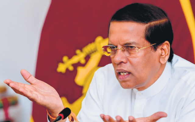 Constitution bars Sirisena from getting extra year in office, CPA tells Supreme Court