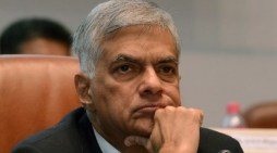 Sri Lankan PM leaves for talks to India