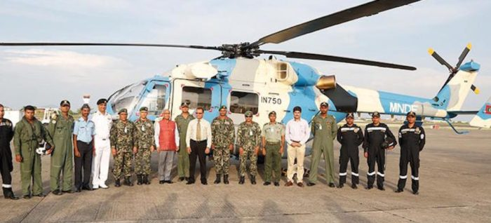 Maldives to return Indian naval choppers and go for a Dornier from another source