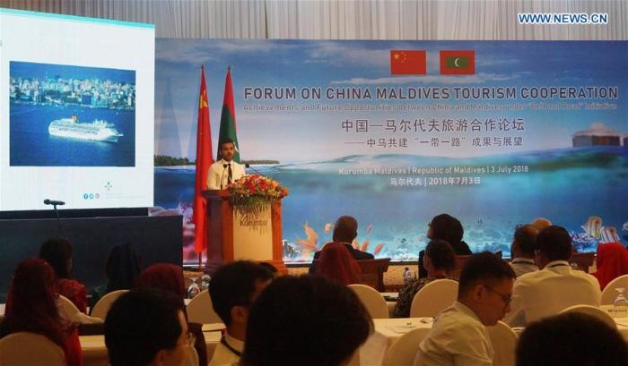 Maldives aims at getting one million Chinese tourists per year in the next five years