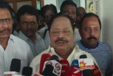 IT छापेमारी पर भड़के दुराई मुरुगन, कहा-ऐसा करने से भाजपा को नहीं मिलेगी राजनीति में सफलता