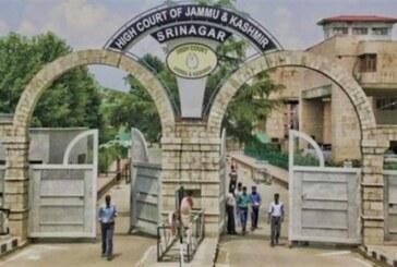 जम्मू-कश्मीर और लद्दाख का एक साझा उच्च न्यायालय रहेगा