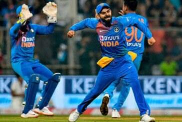 भारत ने राजकोट में 36 रन से जीत दर्ज कर सीरीज 1-1 से बराबरी की