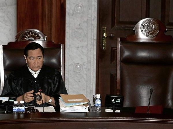 Supreme Court Senior Associate Justice Antonio Carpio (File photo by NIÑO JESUS ORBETA / Philippine Daily Inquirer)