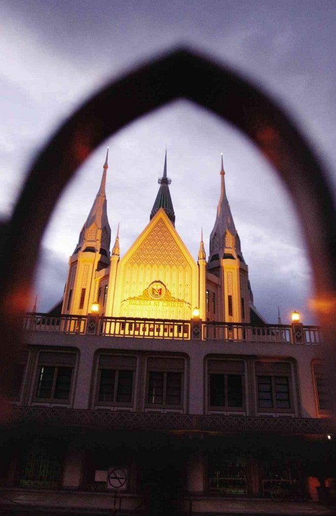 The iconic Iglesia ni Cristo Central Temple. FILE PHOTO