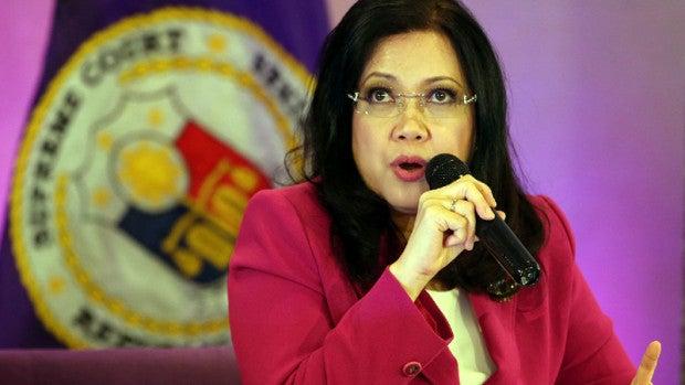 Chief Justice Maria Lourdes Sereno - August 9, 2016