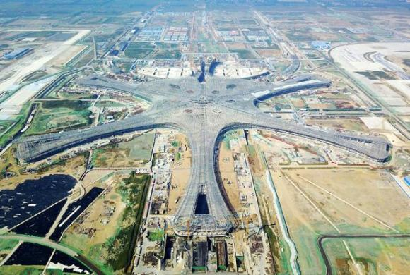 New Beijing international airport to start operating in September     Beijing new international airport