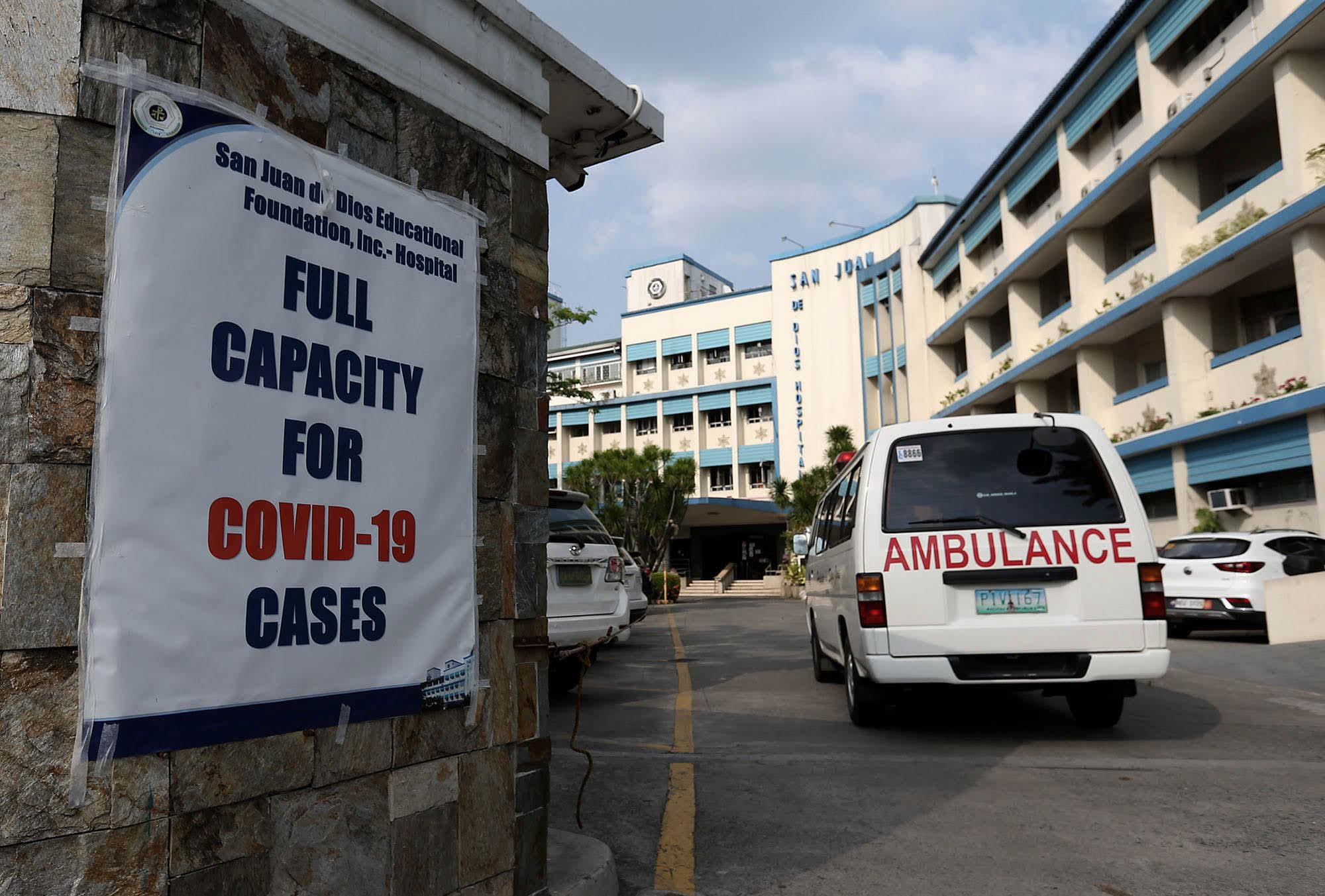 COVID-19 beds in 32 NCR hospitals 100% occupied, 54 in critical level — DOH