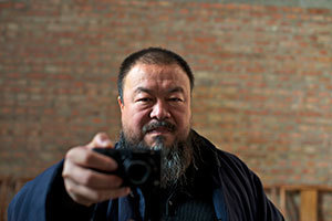 Chinese contemporary artist Ai Weiwei