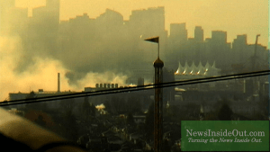 BREAKING: Live video of massive chemical fire at Port Metro Vancouver