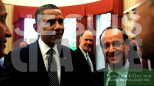 Obama Hollande Je Suis CIA Lie