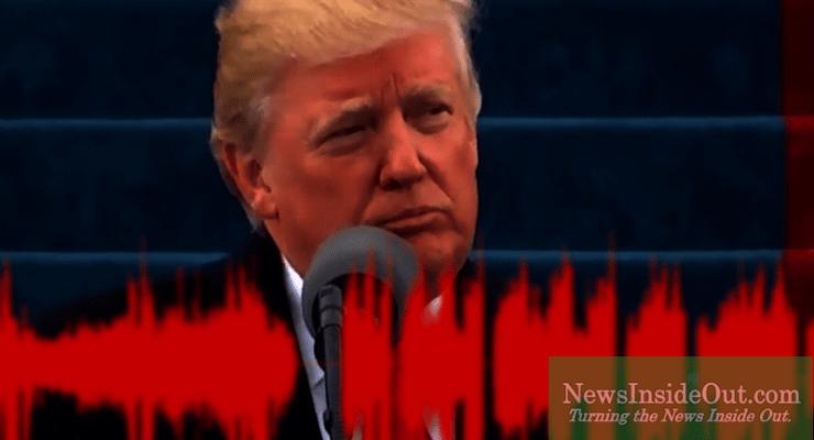 President Donald J Trump gave his inaugural address in Washington, D.C.