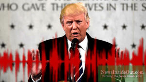 President Donald J. Trump disclosed kompromat at CIA headquarters in Langley, Virginia.