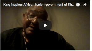 OmniverseTV Free Webinar : King Koebaha Cornelius III inspires State of Good Hope fusion government of Khoisan, Afrikaner, Eurokaner and Coloured Nations in Southern Africa, as Government Spokesperson states plans for ongoing Constitution adoption and eventual Parliament & Elections.