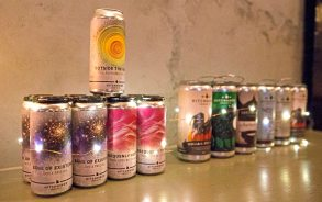 Hitchhiker Brewing Co., has 20 brews on tap and is located in a smokestack-topped former coal-fired boiler room and machine shop of the former Fort Pitt Brewing Co. in Sharpsburg. (Antonella Crescimbeni/Post-Gazette)