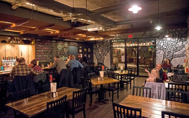 The Draai Laag Brewing Co., which in March is being rebranded as Strange Roots Experimental Ales. (Antonella Crescimbeni/Post-Gazette)
