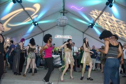 Dancers at the 2017 Urban Garden Party at the Mattress Factory. (Post-Gazette)
