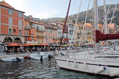 The harbor at Ville Franche-Sur-Mer on the French Riviera. (Patricia Sheridan/Post-Gazette)