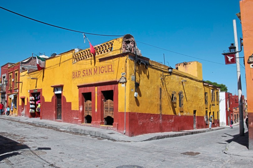 Distinction A local spot for the thirsty in San Miguel de Allende, Mexico. credit Patricia Sheridan