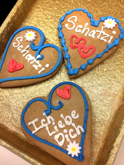 Caption: Gingerbread cookies from Kretchmar Bakery in Beaver. Photo credit: Rachael Agnello.