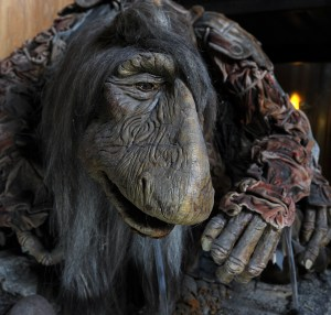 "urSol the Chanter, a puppet created by the late Jim Henson for the movie ""The Dark Crystal. (Nate Guidry/Post-Gazette)"