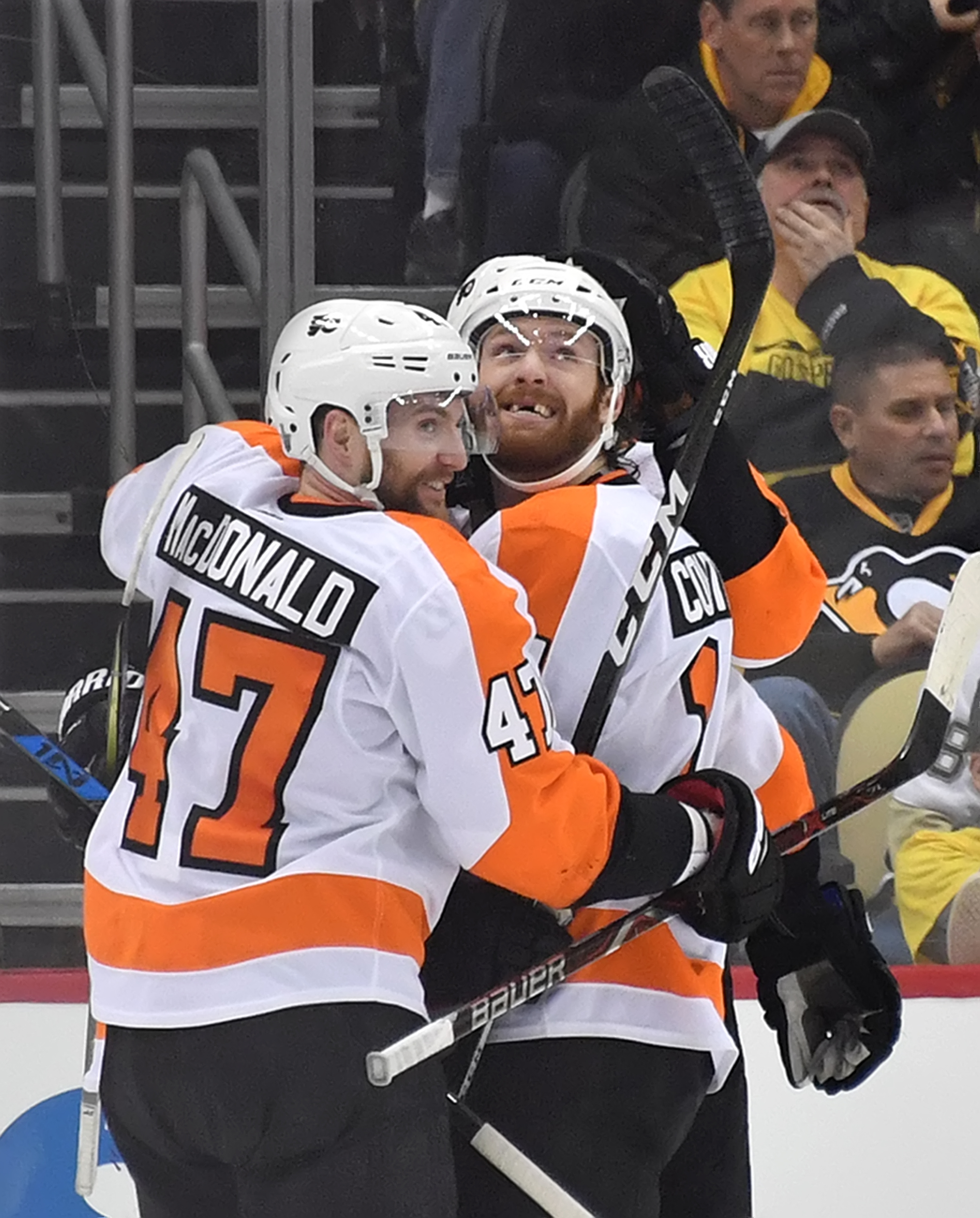 official photos 8ed06 d8671 Penguins sink in game 5 against the Flyers – Pittsburgh: In ...