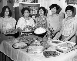Filipino Feast for Easter, March 19, 1978 (Photo by Michael Chikiris, The Pittsburgh Press)