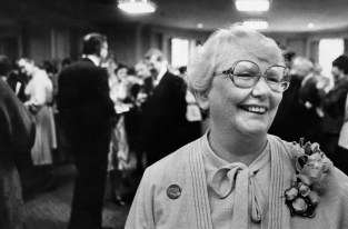 M. Jane Scully at the Duquesne Club, 1970s (Post-Gazette photo)