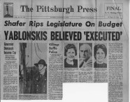 Newspaper coverage of the murders. The bodies were discovered Jan. 5, 1970.