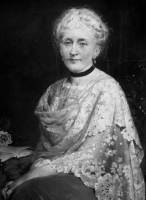 Portrait of Mary Schenley by George E. Hicks, from Carnegie Museum of Art.