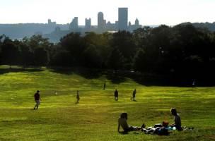 Schenley Park in July 2011. (Post-Gazette photo by Michael Henninger)