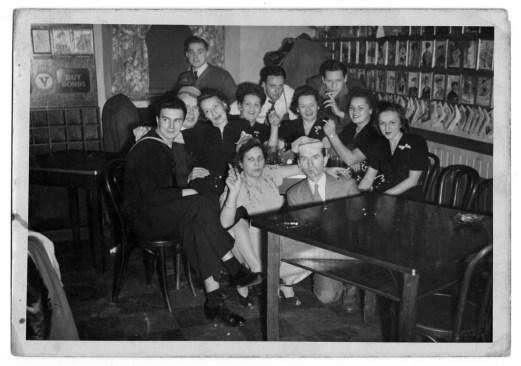 World War II-era celebration at the club. (Photo courtesy Kollar Club)