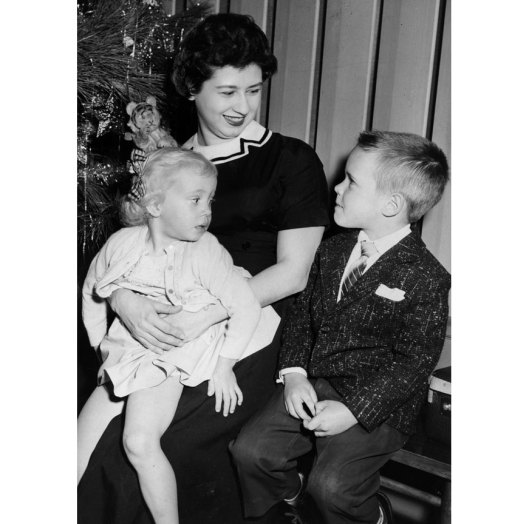In 1957, Carey chats with Linda Koelher, 3, and Jerry Coechel, 6. (Pittsburgh Press photo)