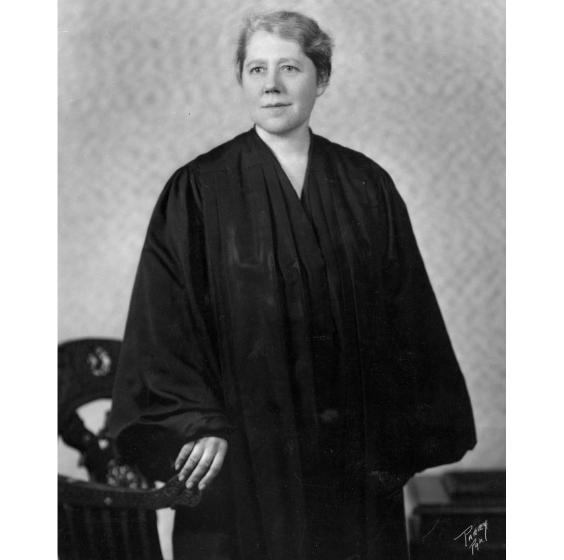 Judge Sara Soffel in 1939. (Photo by Parry Pgh.)