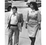 Gill and wife Cynthia Bruno Gill in 1984. (Ross A. Catanza/The Pittsburgh Press)
