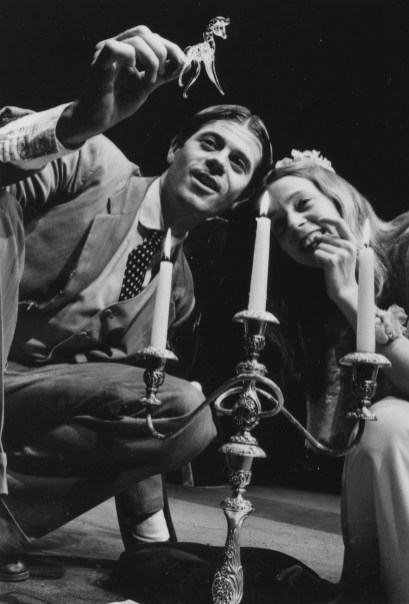 """1988-89: """"The Glass Menagerie,"""" with Steve Simpson and Amy Wright. The Tennessee Williams play also was the first Public production and will open the 40th season in October 2014."""