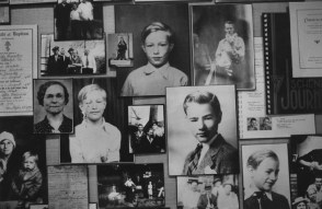 A collection of childhood photos of Warhol, published in The Pittsburgh Press May 13, 1994.