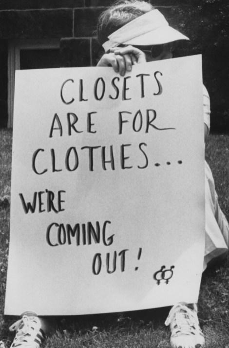 June 22, 1980: Protesters in Shadyside. (Credit: Darrell Sapp/Post-Gazette)