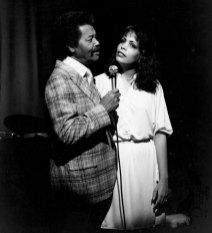 Eckstine with daughter Gina Eckstine in 1979.