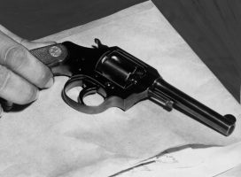 July 12, 1950: The murder weapon (Credit: Unknown)
