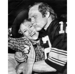 Bradshaw and wife JoJo Starbuck celebrated victory in Super Bowl XIII in 1979. (Associated Press photo)