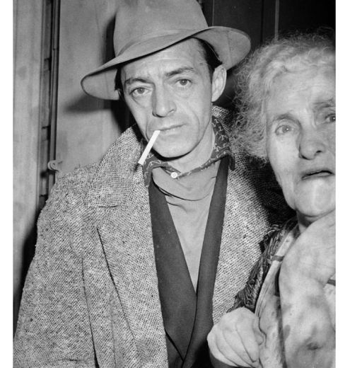 William Weichel with an unidentified woman. (Pittsburgh Press photo)