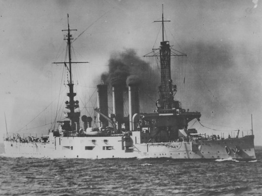 1926: This was the second USS Pittsburgh. It served during World War I. (Credit unknown)