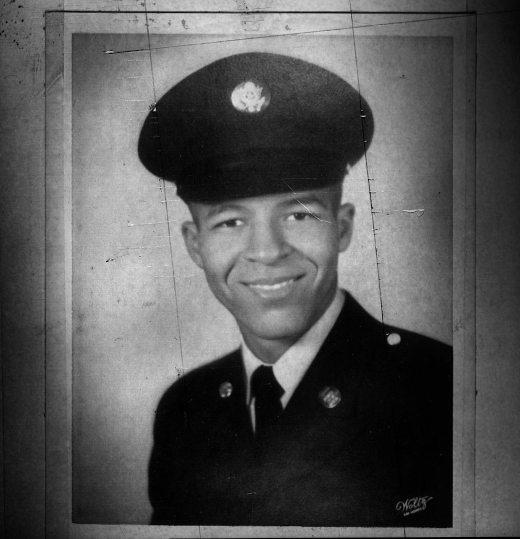 Frederick Matthews in uniform.