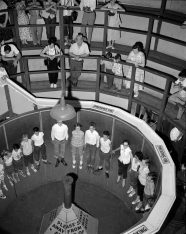 """""""Rotor"""" made its Kennywood debut in 1955. (The Pittsburgh Press)"""