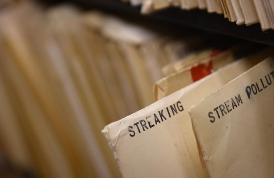 This is the file of streaking pictures in our archive. (Steve Mellon/Post-Gazette)