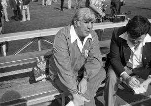 Ray Malavasi served as Ram head coach for five seasons. He died of a heart attack at age in 1987. (Albert M. Herrmann Jr./The Pittsburgh Press)