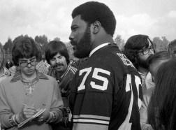 Joe Greene was a Super Bowl veteran. (Albert M. Herrmann Jr./The Pittsburgh Press)