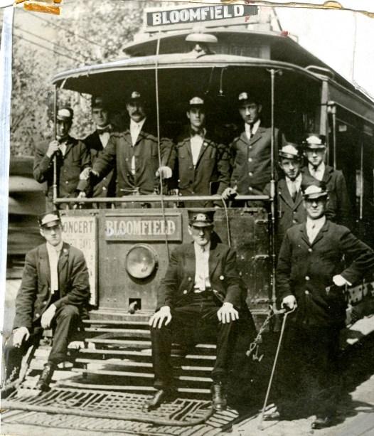 Bloomfield street car, 1910s