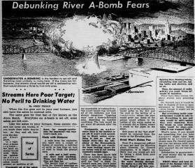 An A-bomb in the river